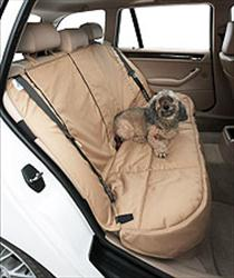 Canine Covers Custom Pet Seat Cover - Crypton Paw Print