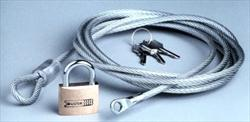 Cable & Lock Set by Coverite (7 ft) (20101C)