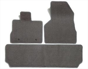 Premier Custom Floor Mats 3 Piece Set 2 Rows Logo & Monogram 13 char.