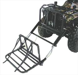 Power-Loader Adapter Bracket - Polaris ATV with Storage Comp.